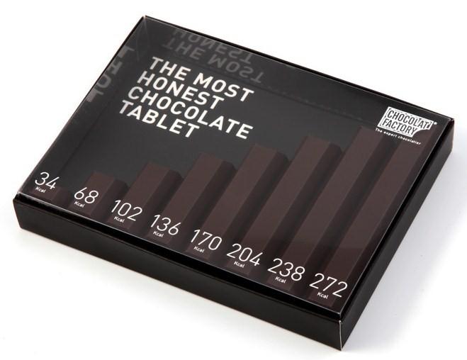 chocolate callories