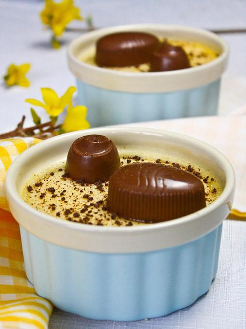 Шоколадные конфеты и лимонный крем