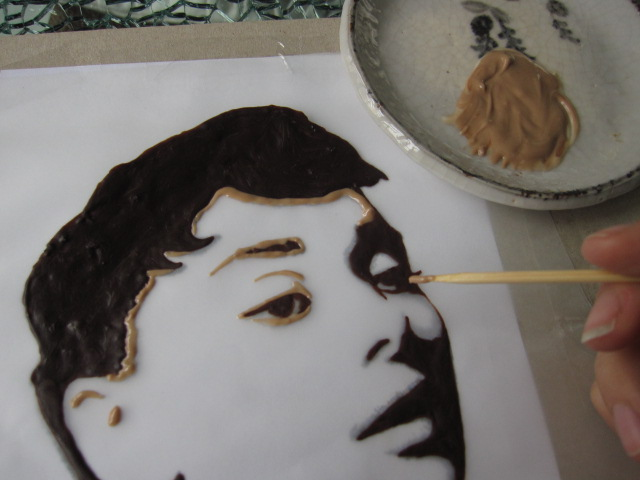 chocolate-painting